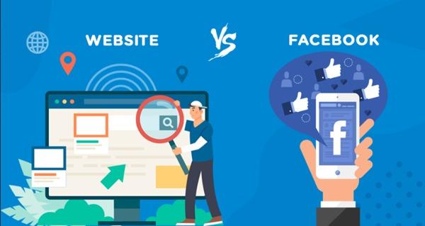 Các doanh nghiệp nên ưu tiên Website hay Facebook hơn?
